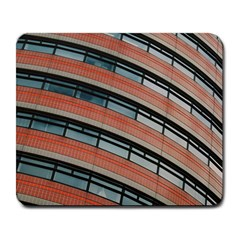 Architecture Building Glass Pattern Large Mousepads