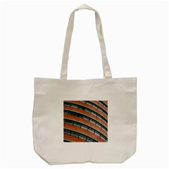 Architecture Building Glass Pattern Tote Bag (cream)