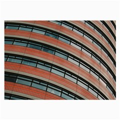 Architecture Building Glass Pattern Large Glasses Cloth
