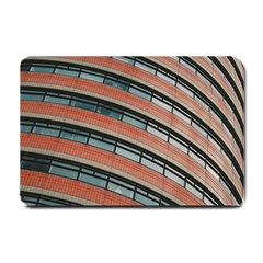 Architecture Building Glass Pattern Small Doormat