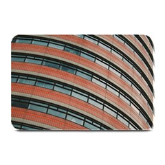 Architecture Building Glass Pattern Plate Mats