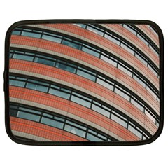 Architecture Building Glass Pattern Netbook Case (Large)