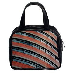 Architecture Building Glass Pattern Classic Handbags (2 Sides)