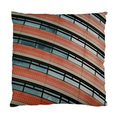 Architecture Building Glass Pattern Standard Cushion Case (Two Sides)