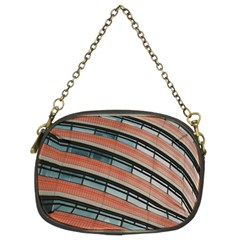 Architecture Building Glass Pattern Chain Purses (two Sides)