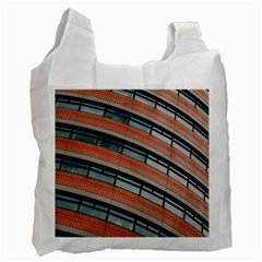 Architecture Building Glass Pattern Recycle Bag (one Side)