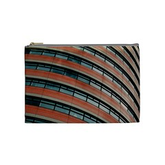 Architecture Building Glass Pattern Cosmetic Bag (medium)