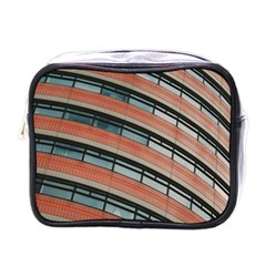 Architecture Building Glass Pattern Mini Toiletries Bags