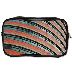 Architecture Building Glass Pattern Toiletries Bags 2 Side