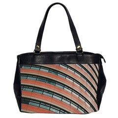 Architecture Building Glass Pattern Office Handbags (2 Sides)