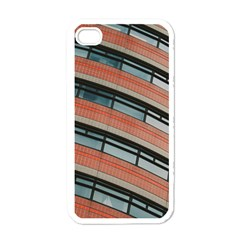 Architecture Building Glass Pattern Apple Iphone 4 Case (white)