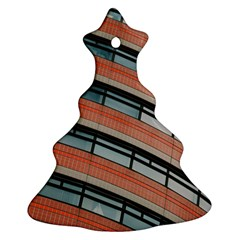 Architecture Building Glass Pattern Ornament (christmas Tree)