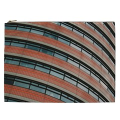 Architecture Building Glass Pattern Cosmetic Bag (xxl)
