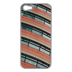 Architecture Building Glass Pattern Apple Iphone 5 Case (silver)