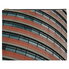 Architecture Building Glass Pattern Cosmetic Bag (xxxl)