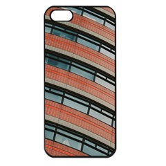 Architecture Building Glass Pattern Apple Iphone 5 Seamless Case (black)