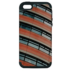 Architecture Building Glass Pattern Apple Iphone 5 Hardshell Case (pc+silicone)