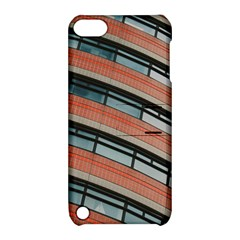 Architecture Building Glass Pattern Apple Ipod Touch 5 Hardshell Case With Stand