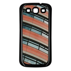 Architecture Building Glass Pattern Samsung Galaxy S3 Back Case (black)