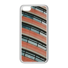 Architecture Building Glass Pattern Apple Iphone 5c Seamless Case (white)