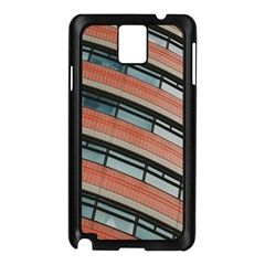 Architecture Building Glass Pattern Samsung Galaxy Note 3 N9005 Case (black)