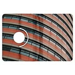 Architecture Building Glass Pattern Kindle Fire HDX Flip 360 Case