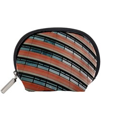 Architecture Building Glass Pattern Accessory Pouches (small)