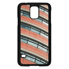 Architecture Building Glass Pattern Samsung Galaxy S5 Case (black)
