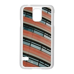 Architecture Building Glass Pattern Samsung Galaxy S5 Case (white)