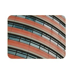Architecture Building Glass Pattern Double Sided Flano Blanket (mini)
