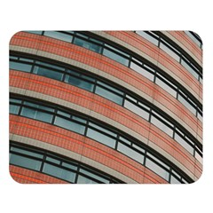 Architecture Building Glass Pattern Double Sided Flano Blanket (large)