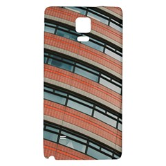 Architecture Building Glass Pattern Galaxy Note 4 Back Case