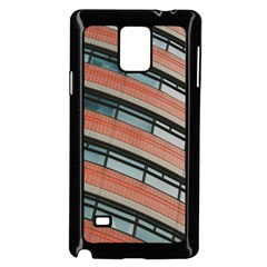 Architecture Building Glass Pattern Samsung Galaxy Note 4 Case (black)