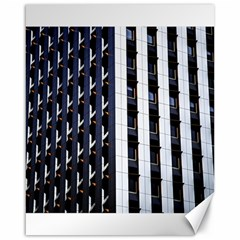 Architecture Building Pattern Canvas 16  x 20