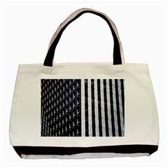Architecture Building Pattern Basic Tote Bag (two Sides)