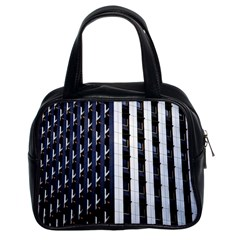 Architecture Building Pattern Classic Handbags (2 Sides)
