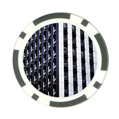 Architecture Building Pattern Poker Chip Card Guard (10 Pack)