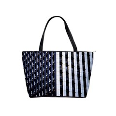 Architecture Building Pattern Shoulder Handbags