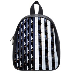 Architecture Building Pattern School Bags (small)