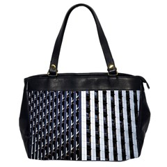 Architecture Building Pattern Office Handbags (2 Sides)