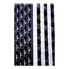 Architecture Building Pattern Shower Curtain 48  X 72  (small)