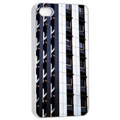 Architecture Building Pattern Apple Iphone 4/4s Seamless Case (white)