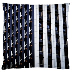 Architecture Building Pattern Large Cushion Case (one Side)