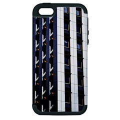 Architecture Building Pattern Apple Iphone 5 Hardshell Case (pc+silicone)