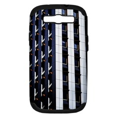Architecture Building Pattern Samsung Galaxy S Iii Hardshell Case (pc+silicone)
