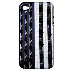 Architecture Building Pattern Apple Iphone 4/4s Hardshell Case (pc+silicone)