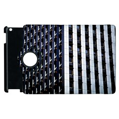 Architecture Building Pattern Apple Ipad 2 Flip 360 Case