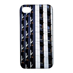 Architecture Building Pattern Apple Iphone 4/4s Hardshell Case With Stand