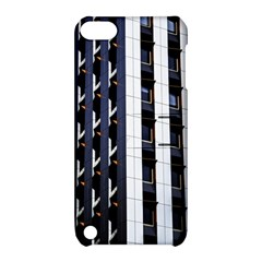 Architecture Building Pattern Apple Ipod Touch 5 Hardshell Case With Stand