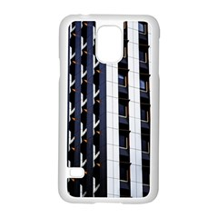 Architecture Building Pattern Samsung Galaxy S5 Case (white)